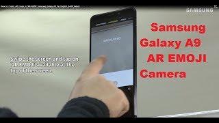 SM AR Emoji Oluşturma-A920F Samsung Galaxy A9