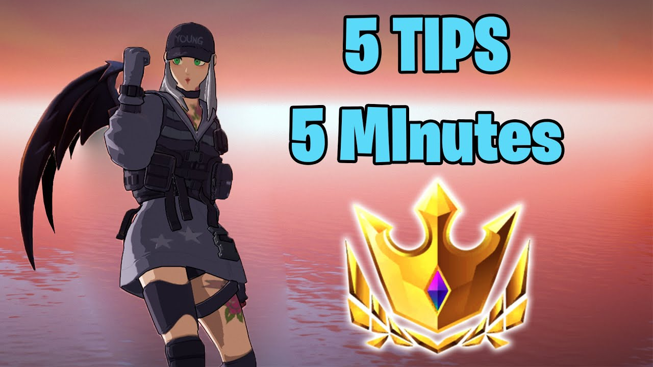 Download 5 Tips in 5 Minutes to help you w-key in Arena | Fortnite