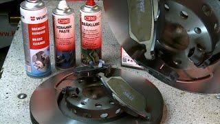 [* AUDI A 6 *]( BREMSEN VORNE WECHSELN ) Bremsscheiben und Beläge.How To Replace Front Disc Brakes