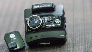 tren tay camera hanh trinh hp f550g quay 120fps quay dem rat tot