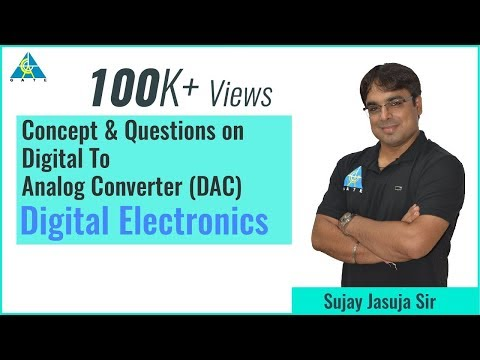 ADC & DAC Part-1 | Digital Electronics