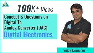 ADC \u0026 DAC Part-1 | Digital Electronics