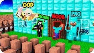 Minecraft NOOB vs PRO vs GOD : VILLAGERS APOCALYPSE ATTACK