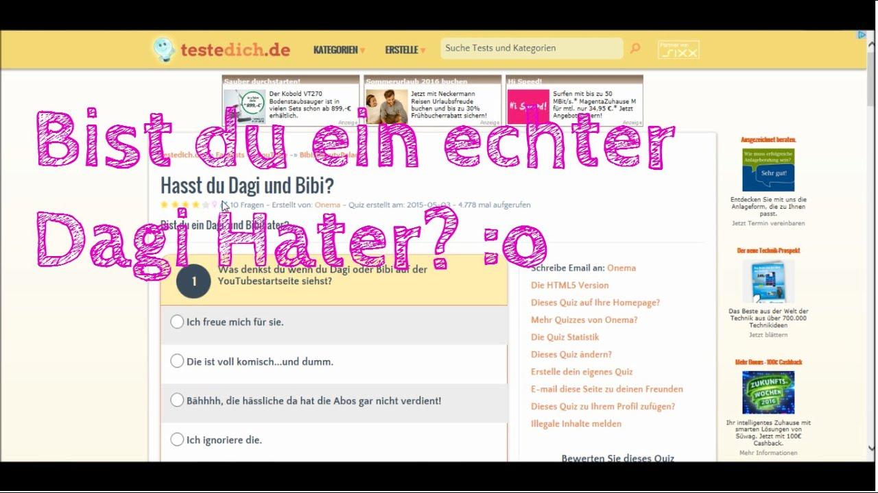 Bist du ein Dagi-Hater...