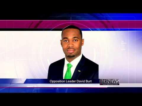 Opposition Leader David Burt On Treaty & Lahey Lawsuit, Feb 17 2017