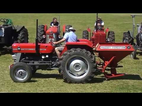 Steam and Vintage Machinery Show Oswestry Show Ground Classic Tractors 17/6/2017