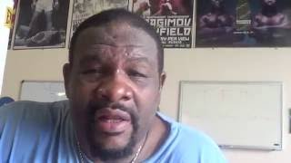 Riddick Bowe explains why Mike Tyson super fight never happend