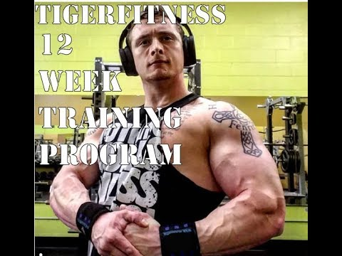 TigerFitness 12 Week Training Program | Functional Fitness Bodybuilding
