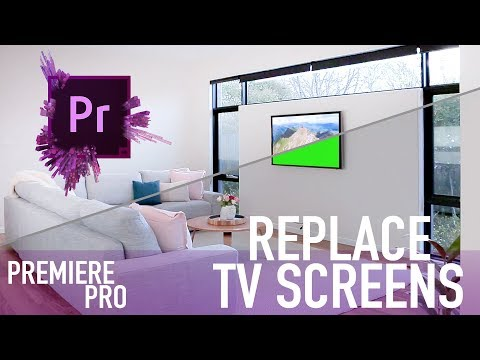 Replace TV screens in your slider shots  Premiere Pro Tutorial