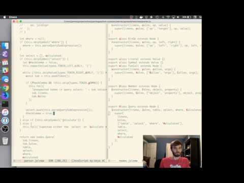 Livestream 12/23/2017 - Enhancing the language and database integration