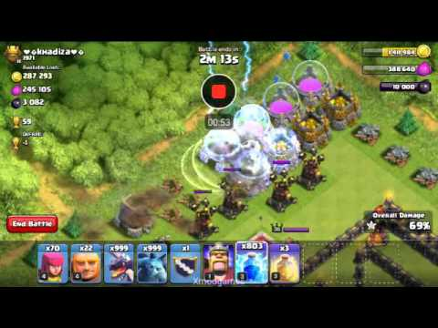 Coc best attack to khadija