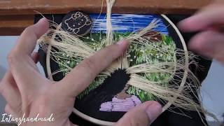 Hand Embroidery : Hair Stitching