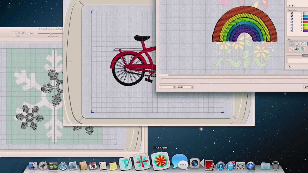 Truembroidery Software For Mac Computers Youtube