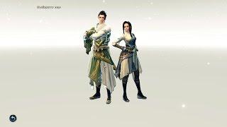 Swordsman Online - создание персонажа  (русскоязычное ОБТ)