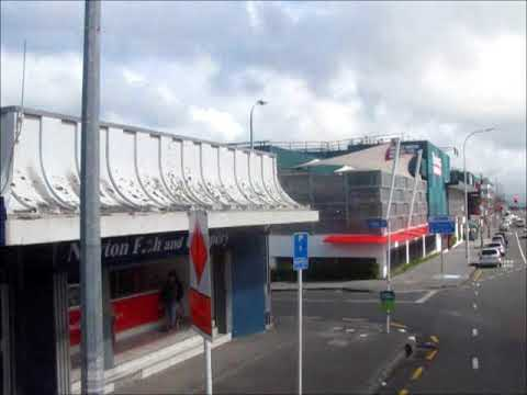 Double decker bus Auckland Central to New Lynn Sep17