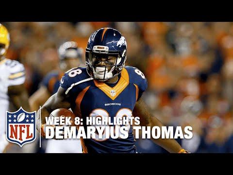 Demaryius Thomas Highlights (Week 8) | Packers vs.  Broncos | NFL