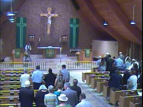 Memorial Service for Herbert Dean Strain at Trinity Lutheran Church (LCMS), Denver, CO.