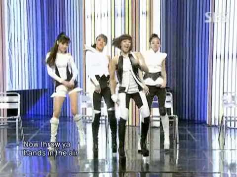 2NE1 - Pretty boy @ SBS Inkigayo 인기가요 090906