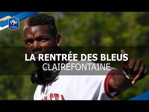 La rentrée des Bleus à Clairefontaine