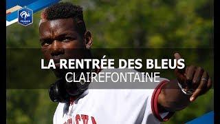 Equipe de France: la rentrée des Bleus à Clairefontaine thumbnail