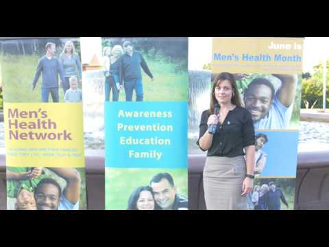 Ana Fadich, MPH, CHES, introduces Men's Health Network