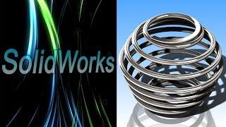 SolidWorks. Другие пружины сжатия переменного шага. Часть III (Урок 10.3) / Уроки SolidWorks