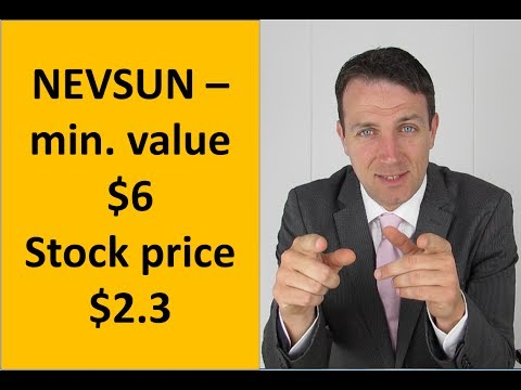 Nevsun is a bargan with a margin of safety