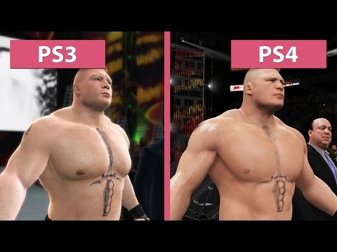 WWE 2K17 – PS3 vs. PS4 Graphics Comparison