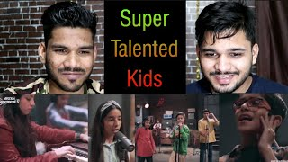 Indian Reaction On PYAR DIYAN GALLAN | All Kids Band | NESCAFE Basement Season 5 (2019)