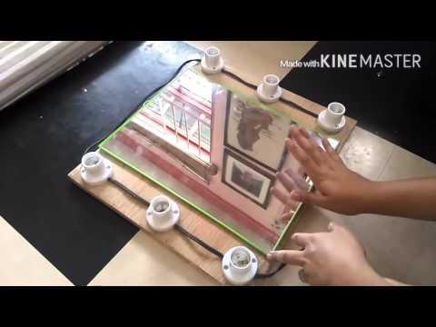 DIY Vanity Mirror (Tagalog)