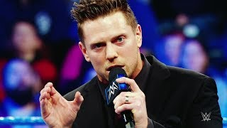 Tag team partners-turned-bitter rivals The Miz and Shane McMahon pr...