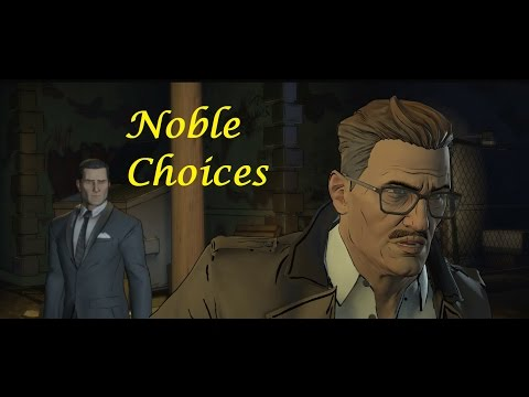 Batman : The Telltale Series - Episode 4 - Noble / Good Choices  😇