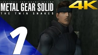 Metal Gear Solid Twin Snakes HD - Walkthrough Part 1 - DARPA Chief [4K 60fps]