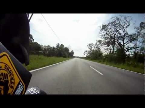 Kuching - Kota Kinabalu on KTM Duke 690 R