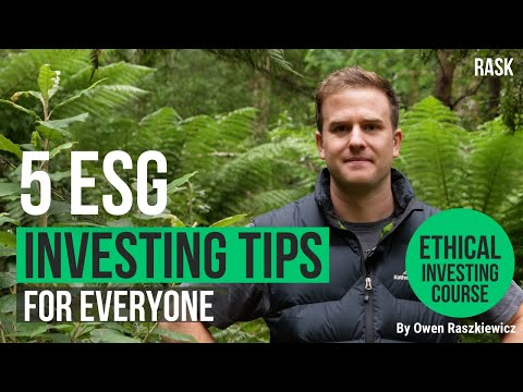 5 things every investor can do to invest ethically & sustainably in Australia   Rask