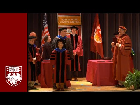 Physical Sciences Division Diploma and Hooding Ceremony, Spring 2014