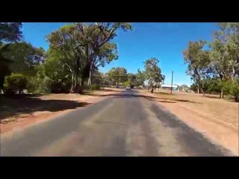 Drive through Katherine - personal street view - Northern Territory, Australia