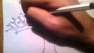 Как нарисовать дерево(Учимся рисовать Если видео было полезно - поставь лайк! рисование, графика, живопись, как рисовать, как..., 2014-08-05T10:05:38.000Z)