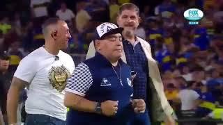 El polémico gesto de Maradona burlándose de River