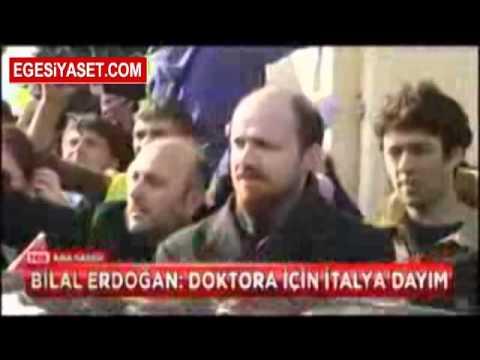 Bilal Erdoğan: Doktora için İtalya'dayım