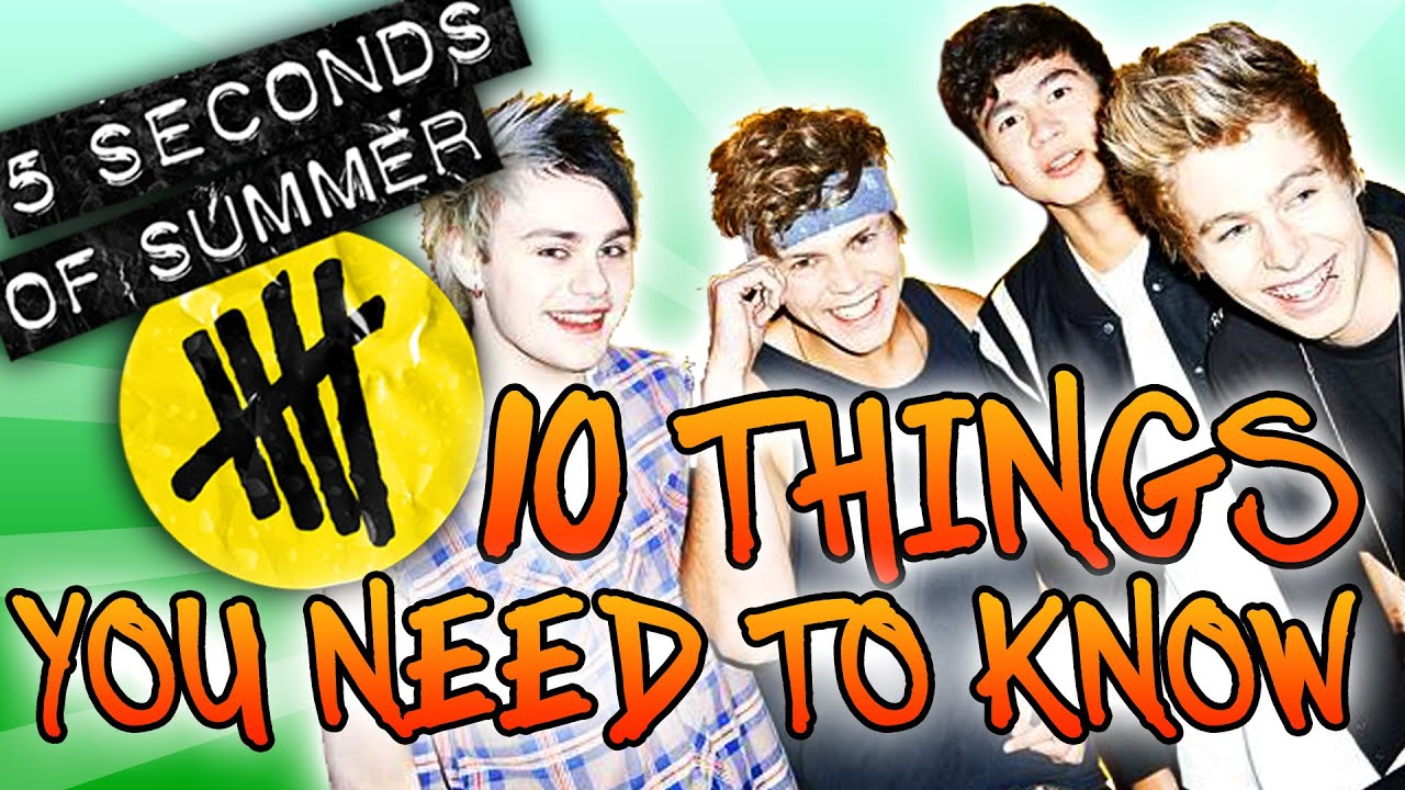 9b12ee7fabf1 5 Seconds of Summer ~ 10 Things You NEED to Know About 5SOS! - YouTube