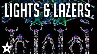 MOST AMAZING Lights & Lazers Shows on Got Talent | Got Talent Global