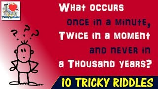 10 Tricky Riddles to test your Brain | Brain Teasers | Prakhar Trikha