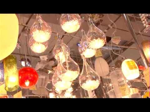 Дизайнерские светильники. ЦОМ Мегаполис
