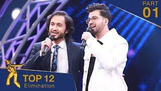 مرحلۀ اعلان نتایج ۱۲ بهترین- فصل پانزدهم ستاره افغان / Top 12 Elimination- Afghan Star S15 - Part 01