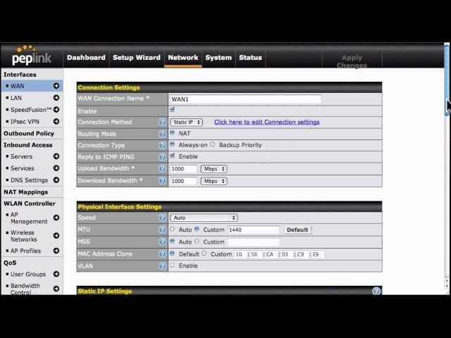 Peplink Balance Firmware 5.4 New Features