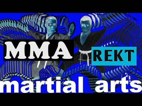 MMA Exposed Martial Arts as Nice, but Silly Dancing.