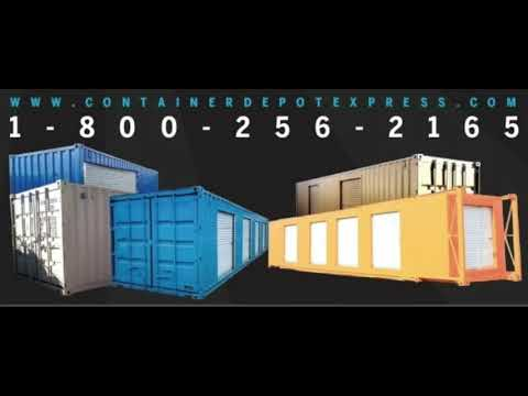 NEW OR USED STEEL STORAGE CONTAINERS / SHIPPING CONTAINERS ** CANADA **