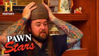 "Pawn Stars: BIG MONEY for RARE ""ONE-IN-A-MILLION"" HELMET (Season 17) 