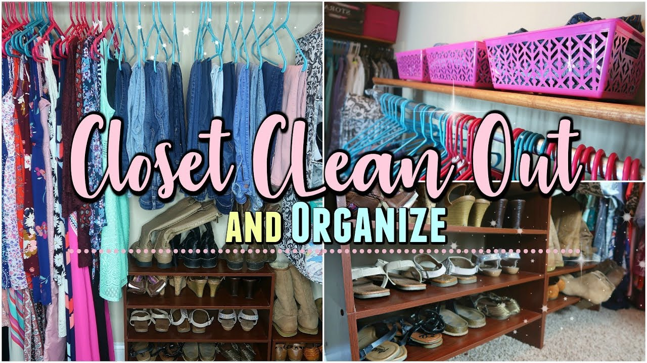 Clean Out And Organizing My Closet Organization Ideas 2018